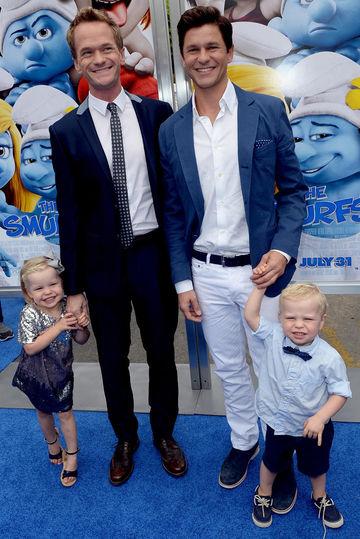 """""""The Smurfs 2"""" - Los Angeles Premiere - Blue Carpet"""